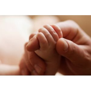 picture of baby hand hold finger